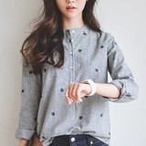 2017 S/S Non-colored Pullover Hickory Shirt