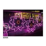 【春装飾品】LEDチューブライト さくらモチーフ