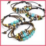 Gift Show Ethnic Beads Bracelet