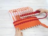 おりぼー 90分で帽子が完成!帽子作り♪織り機【手織り】