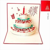切り絵3Dポストカード封筒付き/結婚式/招待状/お礼状/グリーディングカード/オーダーメイド