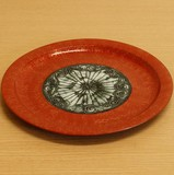 ブロンズ/青銅 リムプレート (大皿) LL