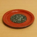 ブロンズ/青銅 リムプレート (大皿) L
