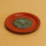 ブロンズ/青銅 リムプレート (中皿) M