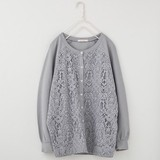 2017 S/S peniphass Predecessor Lace Ripple Cardigan