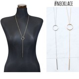 Long Necklace Basic Necklace Accessory Ladies