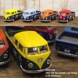 ダイキャストミニカー(M)[1963 VW Bus Double Cab Pickup (Delivery)1/34]【ロット12台】