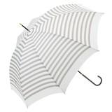 ≪2017春夏≫【雨傘】長傘  ボーダー