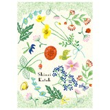 【2017新作】 Flower garden バナナペーパーポストカード