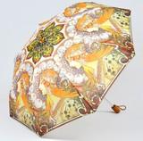 【3月21日から31日まで10%分引きセール!】【折りたたみ傘】ミュシャ 妖精
