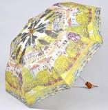 【3月21日から31日まで10%分引きセール!】【折りたたみ傘】クリムト ドナウ河沿