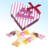 バレンタインハート(ハートチョコ5粒入り) / バレンタイン チョコレート ギフト ノベルティ