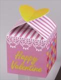 バレンタイン・ハートパック(ハートチョコ5粒入り) / バレンタイン チョコレート ギフト ノベルティ