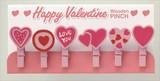 バレンタイン木製ピンチ / バレンタイン 雑貨 ギフト