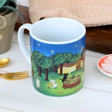 マグカップ ねこ「森のお茶会」