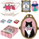 ネコ&ドッグ&ローズ バレンタインやカフェにもオススメ ミニカードセット