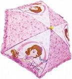 ディズニー ちいさなプリンセスソフィア フリル キッズ傘!子供傘!キッズアンブレラ
