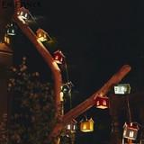 ソーラー充電式ガーランドライト「Home's - ホームズ -」ガーデンライト 庭装飾