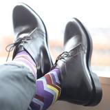 登山家/Alpinist 日本製 メンズソックス 416903 <London Shoe Make THE SOCKS>