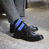 散髪屋/Barber 日本製 メンズソックス 416904 <London Shoe Make THE SOCKS>