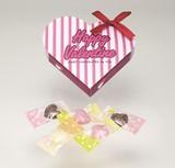 バレンタインハート(ハートチョコ5粒入) 単柄 41-53