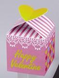 バレンタインハートパック(ハートチョコ5粒入) 単柄 41-55
