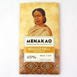 メナカオ ミルクチョコレート45% マダガスカルバニラ 65G