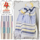 Stole S/S Spring Color Border Stole