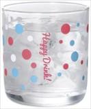 冷やすと色が変わるハッピーグラス 2個組 ノベルティ 春 夏