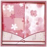 咲楽 はんかちタオルギフト / 春 さくら 桜 ノベルティ