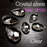 サンキャッチャー トップ用 クリスタルガラス しずく型 涙型 クリア 《SION パワーストーン 天然石》
