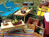 【OUTDOOR】折りたたみテーブル 2サイズ
