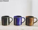 【3色】<日本製>美濃焼 stitch mug cup - スティッチマグカップ -