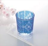 桜切子写し オールドグラス 日本製 1P / 春 夏 ノベルティ さくら