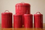 処分セールB品 ホーロー風 缶 [収納]  ブレッド缶
