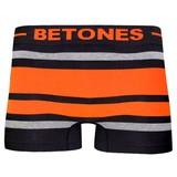 BETONES(ビトーンズ) メンズ BREATH BLACK-BB001色番8 ORANGE