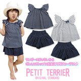2017 S/S Toddler Girl Frill Blouse Culotte Suit Set