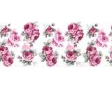 【2017発売】【両面パイル素材】ソワール フェイスタオル<日本製><花柄・バラ柄>