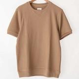 2017 S/S Waffle Short Sleeve Sweatshirt