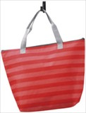 Dot Border Cold Insulation Tote Bag velty