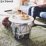 万能バスケット「Bambas - バンバス -」サイドテーブル 洗濯かご ランドリーバスケット