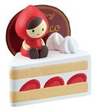 Card Stand Short Cake Little Red Riding-Hood