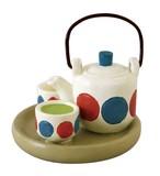 concombre Tea Set