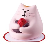 concombre Mochi Cat Strawberry Cat