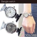 レディースバングルウォッチ レディース腕時計