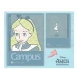 【ディズニー】キャンパスノートドットA罫5冊パック(ガールズ)★デザインコレクション11★★Campus★