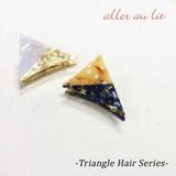 【aller au lit】-Triangle Hair Series-三角バンス・バイカラーアセチ