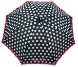 ◆新作◆ 【リールリール・ガールズ】子供用雨傘 ドットハートフリル
