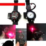 【コンナの初めて!】復活!LEDビーム!・名探偵メタルトイウォッチ腕時計