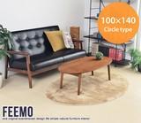 【直送可】Feemo 100×140cm Circle type ラグ【送料無料】